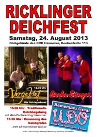 Ricklinger Deichfest 2013