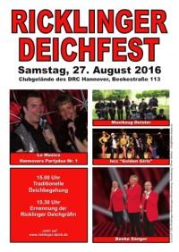 Ricklinger Deichfest 2016
