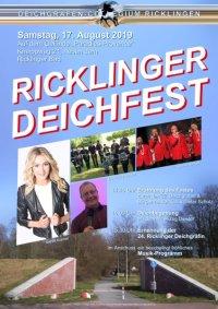 23. Ricklinger Deichfest am Samstag, 17. August 2019